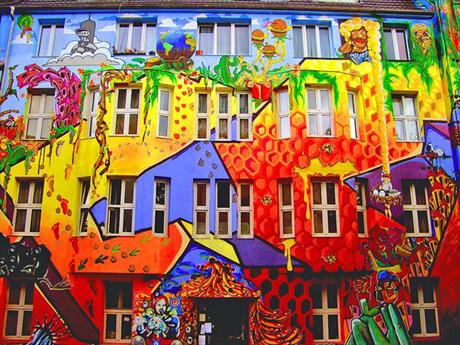 Chẳng những sản xuất điện, graphene còn có thể giúp chủ nhân của ngôi nhà đổi màu tường vào mọi thời điểm. Ảnh: designspectre.com.