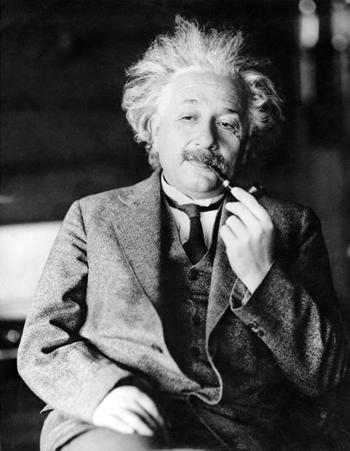 Albert Einstein. Ảnh: AP.
