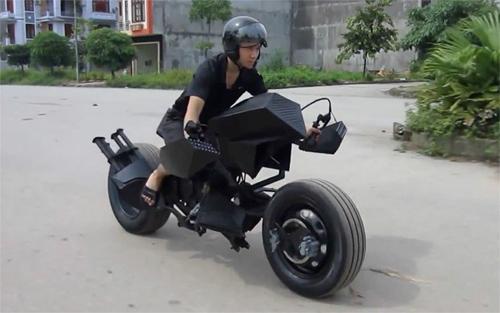 siêu môtô batman của chàng trai việt lên báo nước ngoài - 1
