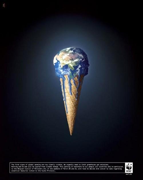 Trái đất đang tan chảy như một que kem và ai là người ăn kem? Chính con người đang tự hủy hoại cuộc sống của chính mình. Biến đổi khí hậu không ở xa xôi mà gần ngay trước mắt bạn.    Mới đây, Viện Nghiên cứu Tác động Biến đổi Khí hậu Postdam đã đưa ra một báo cáo khoa học, trong đó, khẳng định Đông Nam Á là khu vực chịu tác động cực đoan nhất từ sự nóng lên toàn cầu. Theo đó, mức nhiệt độ trung bình sẽ đạt 40 độ C và thành phố Hồ Chí Minh là một trong những nơi hứng chịu hậu quả nặng nề nhất.