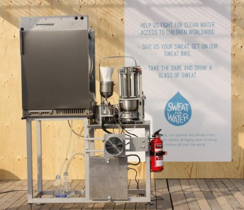Máy chiết xuất nước từ mồ hôi