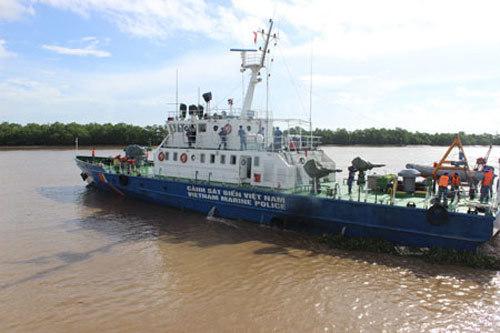 Biên đội tàu CSB 2008 của Vùng Cảnh sát biển 1 khởi hành từ Hải Phòng đi Bạch Long Vĩ.