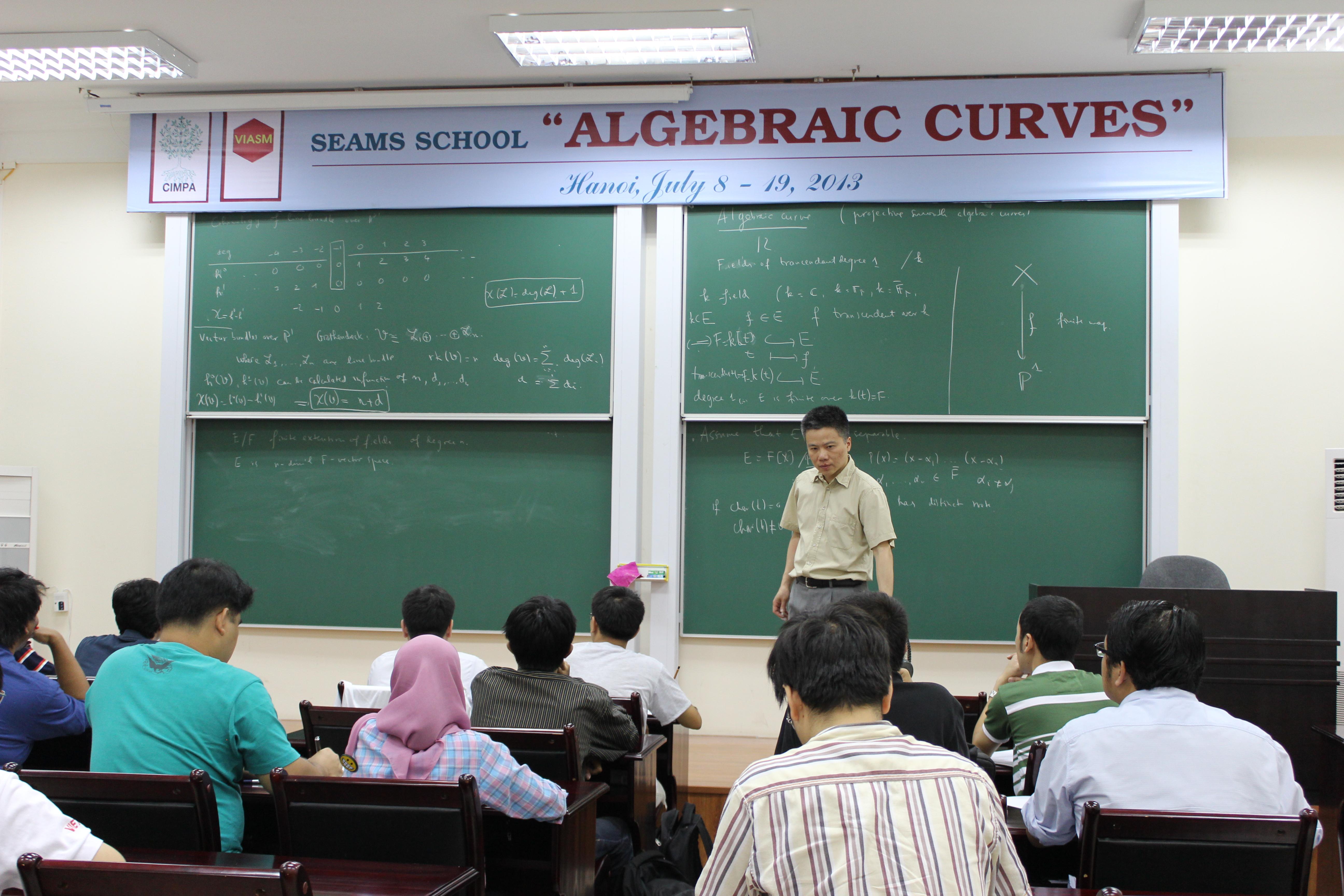 Nhiều trường nước ngoài gửi học sinh sang Viện Toán của Việt Nam