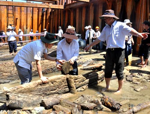 Quảng Ngãi: Bí ẩn 'nghĩa địa tàu cổ' ở vùng biển Bình Châu - Ảnh 3