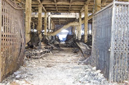 cháy trung tâm thương mại ở Hải Dương