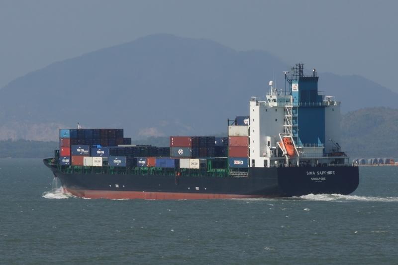 Tàu hàngSima Saphire của Singapore