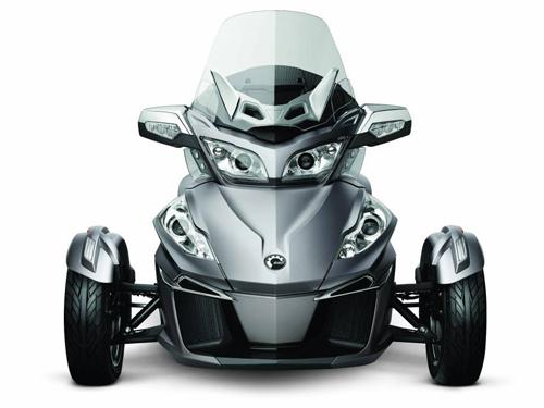 siêu môtô 3 bánh can-am spyder rt có động cơ mới - 2