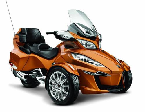 siêu môtô 3 bánh can-am spyder rt có động cơ mới - 1