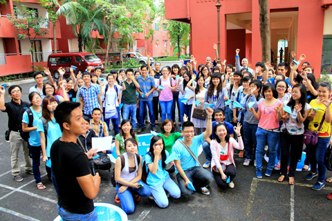 Tết trung thu từ thiện của học sinh trường quốc tế Việt Úc