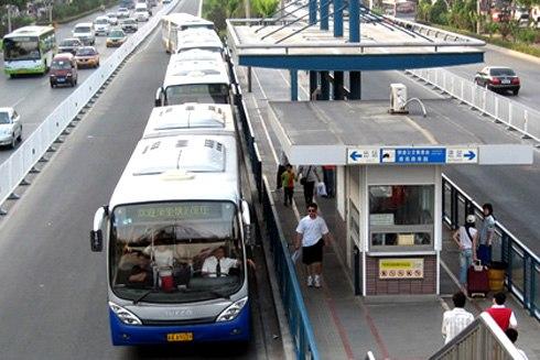 156 triệu USD xây dựng tuyến xe buýt nhanh đầu tiên - Ảnh 1