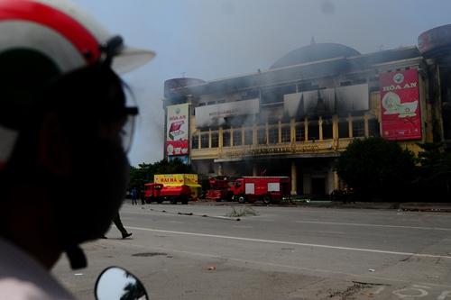 Khởi tố hình sự vụ cháy trung tâm thương mại Hải Dương