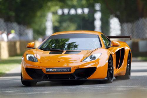 McLaren 12C GT Sprint giá bán từ 316.500 USD