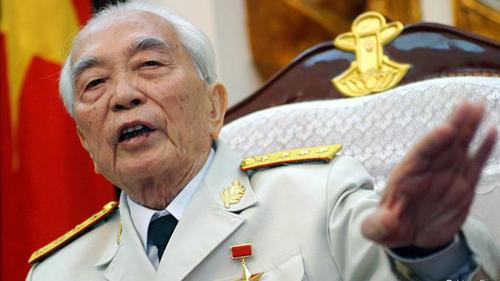 [Caption]Đại tướng Võ Nguyên Giáp đã để lại nhiều câu nói bất hủ