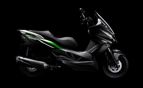 j300 - scooter mới của kawasaki - 3