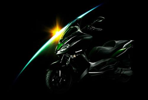 j300 - scooter mới của kawasaki - 1