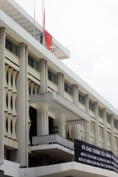 Dinh Thống Nhất là nơi tổ chức Lễ viếng Quốc tang Đại tướng Võ Nguyên Giáp.
