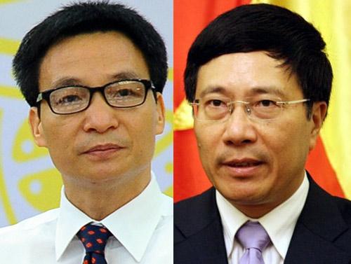 Xã hội - Chính phủ đề xuất bổ nhiệm 2 phó thủ tướng mới