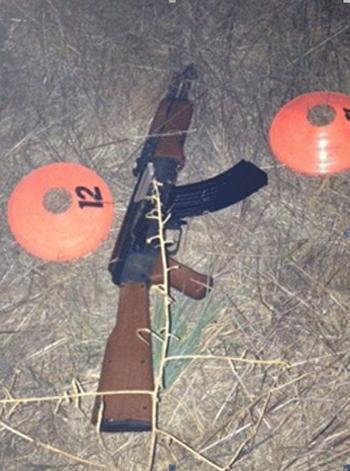 [Caption]Khẩu súng giả khiến cảnh sát hiểu nhầm dẫn đến cái chết của Andy Lopez. Ảnh:Sonoma Sheriffs Office