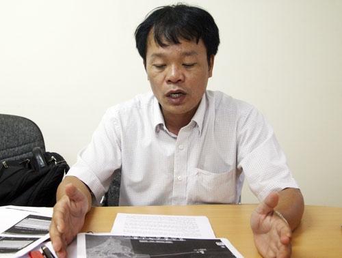 Ông Vũ Văn Đảo,Giám đốc Công ty cổ phần công nghệ Việt Séc. Ảnh: An Nhơn.
