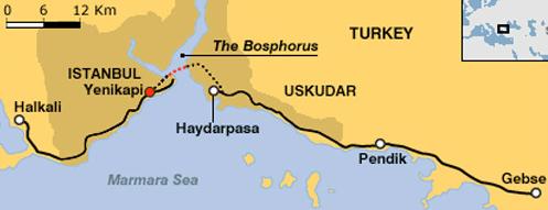 Tiêu điểm - Bên trong đường hầm xuyên biển nối liền Á - Âu