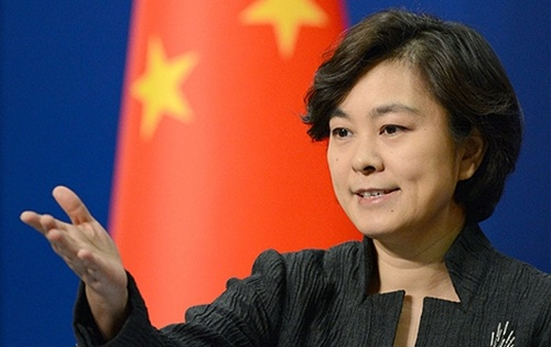 """Phát ngôn viên Bộ Ngoại giao Trung Quốc Hoa Xuân Doanh. Ảnh: SCMP. """" - phat-ngon-vien-trung-quoc-8915-1383012809"""