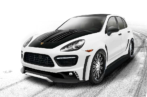 Xế độ Porsche Cayenne Turbo 2013 Black Bison Edition