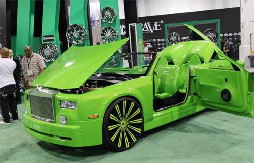Rolls-Royce độ ấn tượng ở SEMA