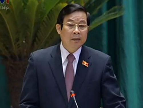 Bộ trưởng Nguyễn Bắc Son.