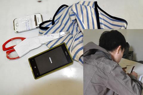 Tên trộm cắt quần của nữ sinh đang ngủ