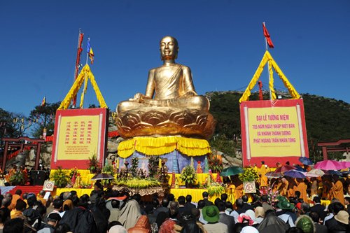 1 6758 1386063524 705th Commemorative Anniversary of Nirvana Attainment By Buddha King Trần Nhân Tông
