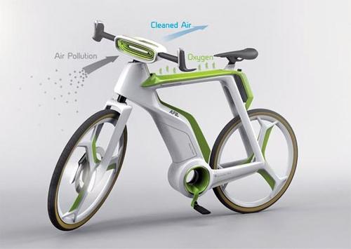 Ngỡ ngàng ngắm chiếc xe đạp điện tự sản xuất khí ôxi