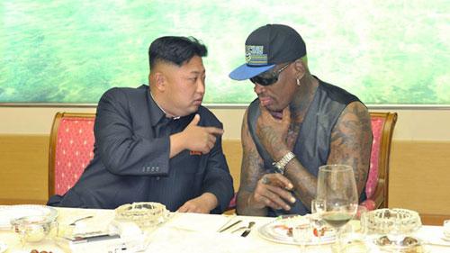 Dennis Rodman ăn tiệc cùngKim Jong-un trong...