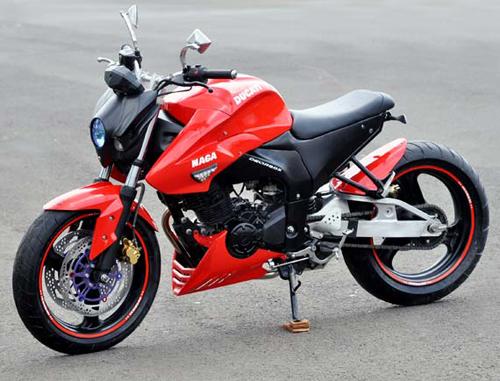 Siêu phong cách với Yamaha FZ16