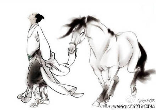 Ảnh: Ngựa Đích Lô cứu mạng chủ nhân