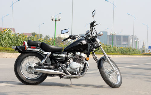 Honda Rebel 205 2014