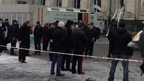 Cảnh sát ước tính đã có ít nhất 18 người chết và hơn 40 người bị thương. Ảnh: RIA Novosti.