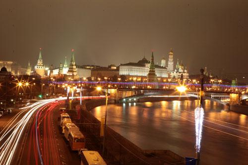 [Caption]01. Toàn cảnh quảng trường đỏ nhìn từ sông Matxcova
