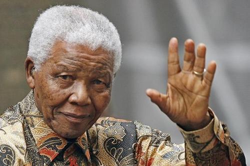 Cựu tổng thống Nelson Mandela. Ảnh: AFP