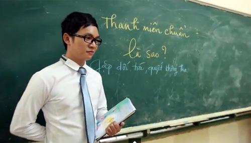 Thanh nien chuan video clip gay sot cong dong mang
