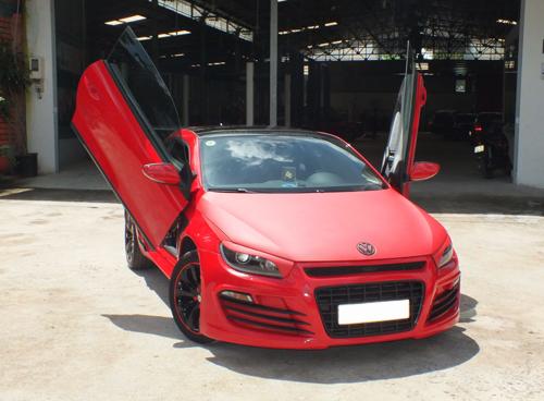 Volkswagen Scirocco phong cách Audi R8 lạ mắt ở Việt Nam