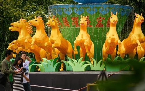 Năm mới Âm lịch bắt đầu từ ngày 31/1 và đánh dấu năm Ngựa, trong 12 con giáp. Ảnh: Xinhua