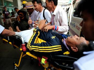 Đánh bom và nổ súng tại Bangkok, 28 người bị thương