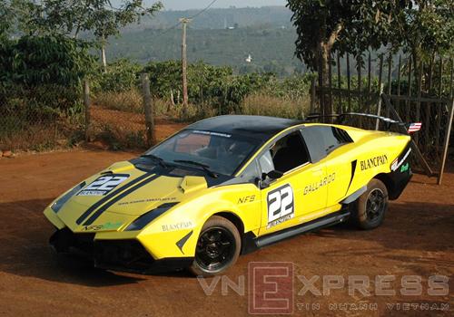 Lamborghini tự chế tại Đắk Nông chính thức lăn bánh