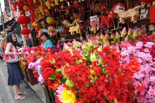 Ảnh Châu Á chuẩn bị đón Tết âm lịch
