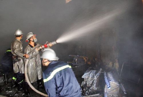 Phim trường của VTV ở TP HCM bị cháy rụi
