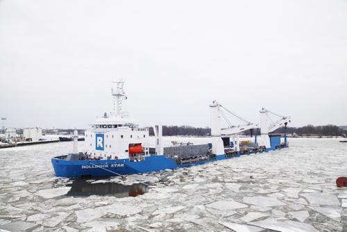 Tàu vận tải Hà Lan rời mặt nước xưởng Yantar để tới biển Baltic và từ đó thực hiện hành trình về Việt Nam. Theo tính toán sơ bộ thời gian vận chuyển tàu ngầm về tới căn cứ Cam Ranh vào khoảng 1,5 tháng.