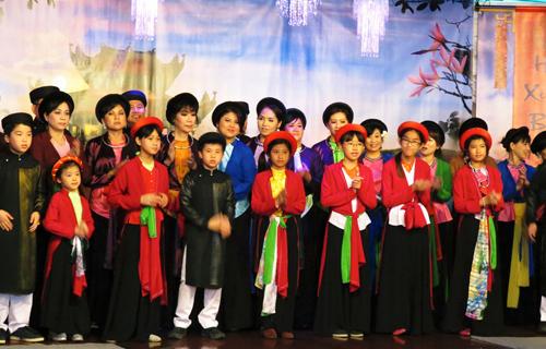 Người Việt ở Mỹ hát quan họ