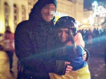 Tình yêu nảy nở trong biểu tình Ukraine