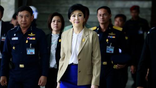 Thủ tướng Thái không ra tòa