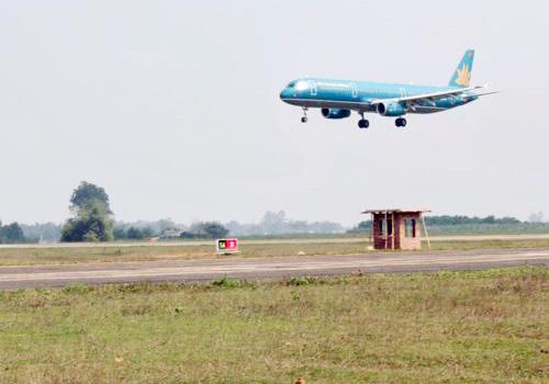 Tạm dừng khai thác sân bay Thanh Hóa